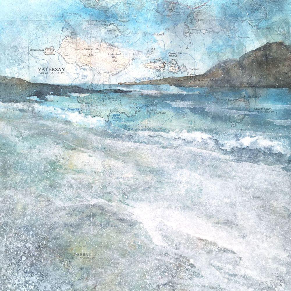 BAGH A'DEAS, THE HIDDEN BEACH ON VATERSAY