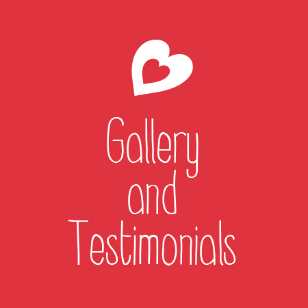 Gallery and testimonials
