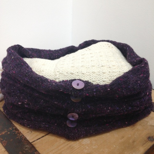 Knitting - Snood - Various dates and times