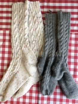 Knitting - Socks - Various dates and times