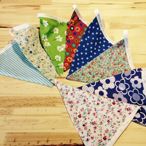 Children's Learn to Sew - Bunting - 1:30pm to 4:30pm Monday 4th April (Hass