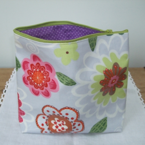 Children's Learn to Sew - Oilcloth Purse