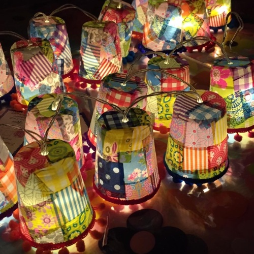 Light Garlands - Wednesday 14th September 7-9pm (Ditchling)