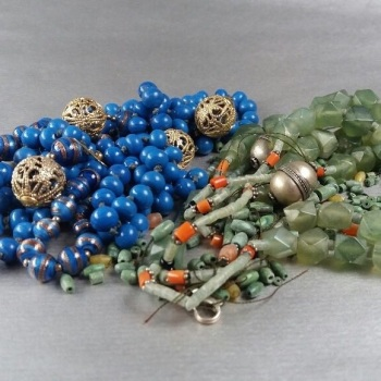 Upcylce your beaded necklaces and bracelets - Monday 3rd July 10am to 2:30pm (Ditchling)