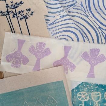 Creative textile printing