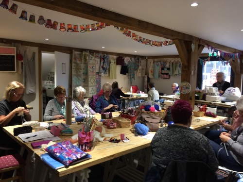 Knit and Natter Saturday special 1st July 2-4pm