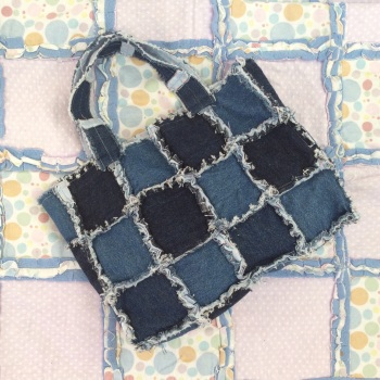 Fun rag quilting - make bags or quilt