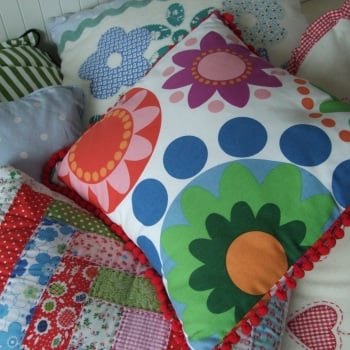 A learn together workshop - Cushion Making - Friday 4th August 1-4pm