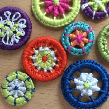 *NEW* Creative Embroidery - Dorset Buttons - Thursday 28th September 2017 10am to 2pm