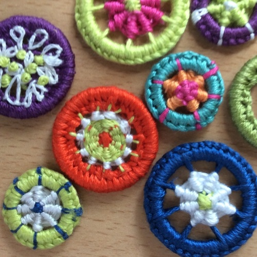 Creative Embroidery - Dorset Buttons - Thursday 28th September 2017 10am to