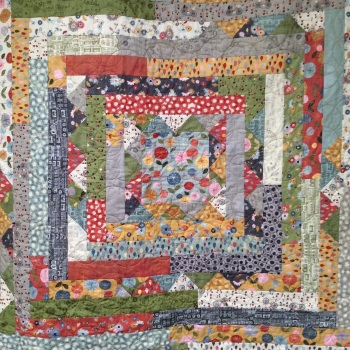 Jelly Roll Quilt Top- Medallion