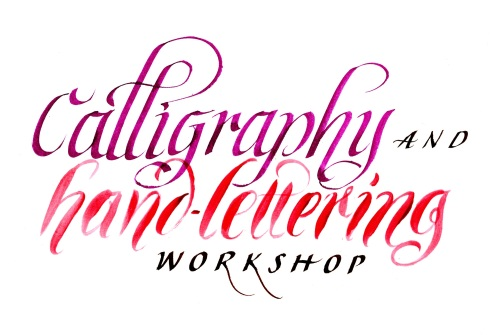 Introduction to Calligraphy - 4 week term