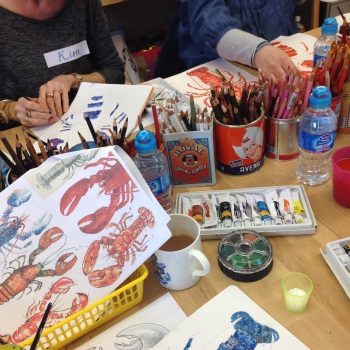 Jennies Maizels' Sketchbook club 10 week term (Mondays 1.30pm to 3.30pm)