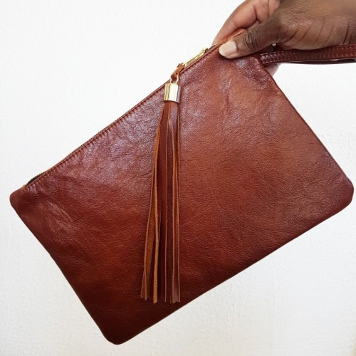 *NEW* Leather - Learn to sew a leather clutch bag  - Friday 23rd February 9
