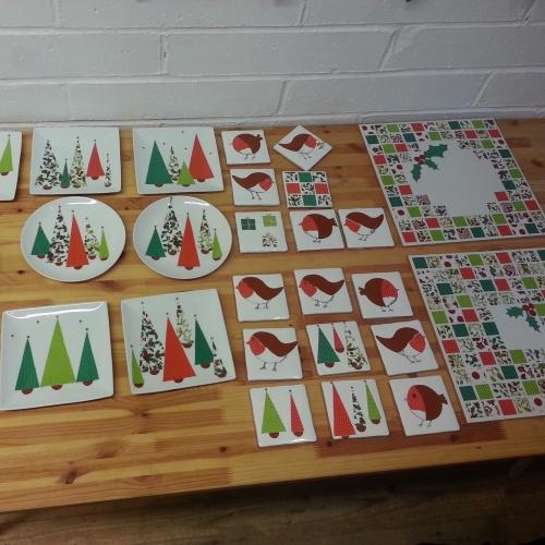Christmas china decoration