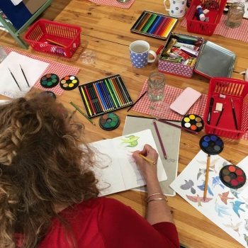 Jennie Maizels' Sketchbook Club - 12-18 years - Thursday 26th October 9:30am to 12:30pm