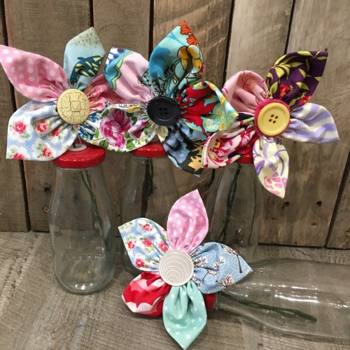 Fabric Flower workshop Friday 18th May 9:30am to 12:30pm