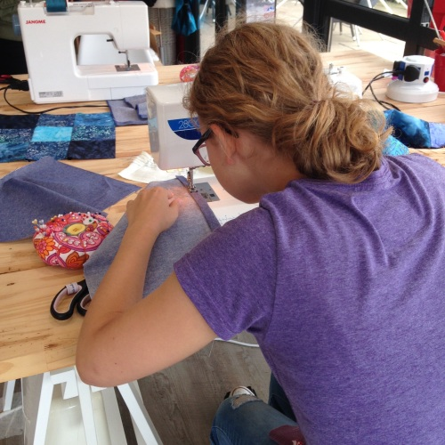 A weekend sewing class - TEEN Sew Friendly Saturday session