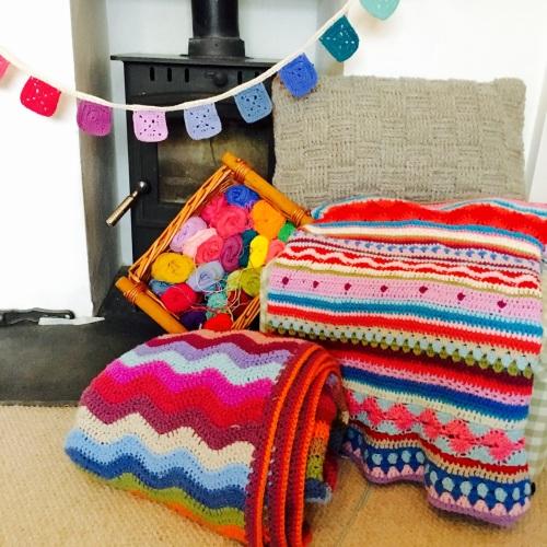 Crochet weekend retreat