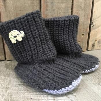 Knitting - Slipper boots Tuesday 23rd Jan & 20th Feb 1pm - 4pm