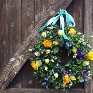 Florsitry spring wreath