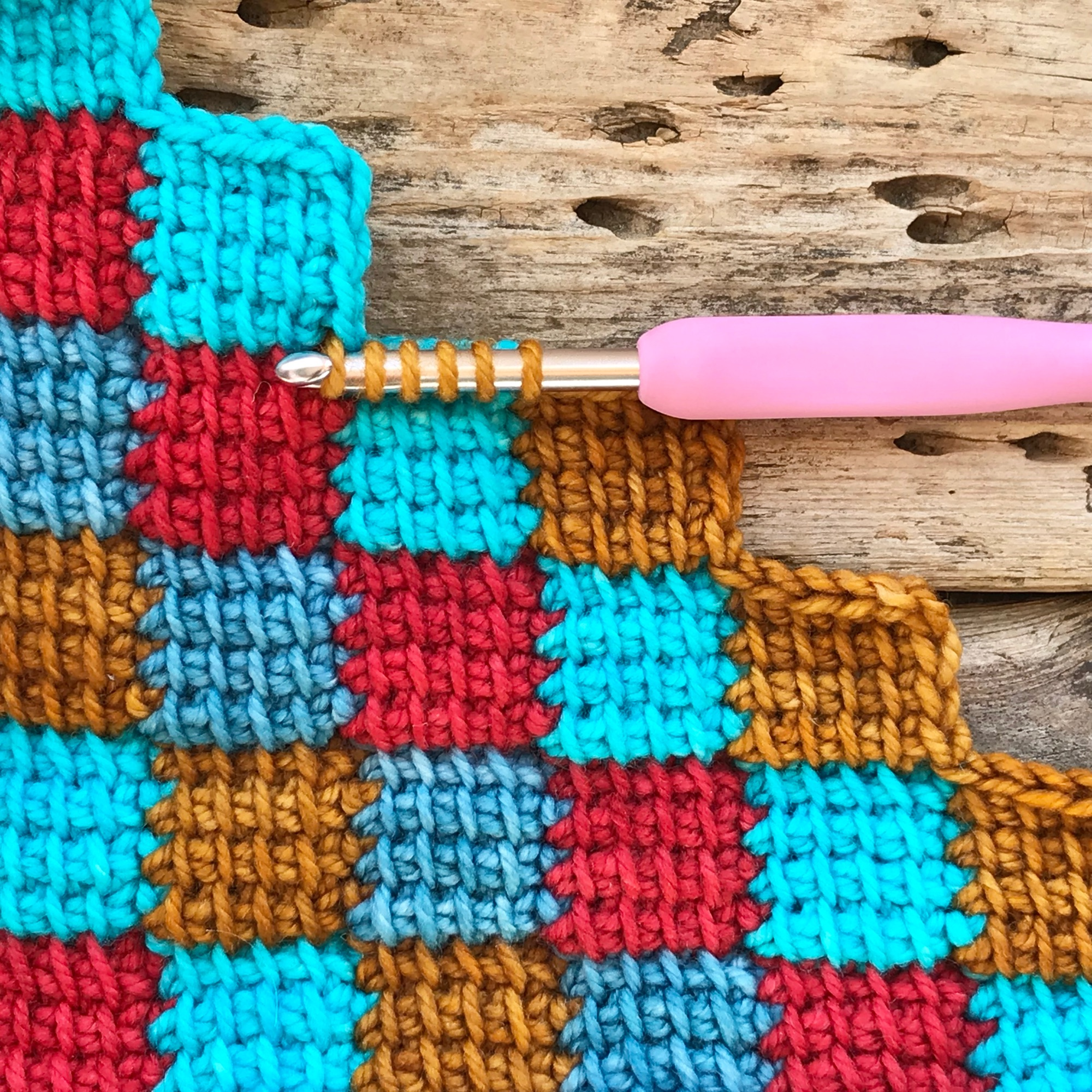 Entrelac Crochet Workshop With Coastal Crochet At Made And Making