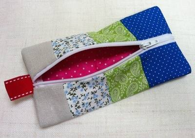 Children's Learn to Sew - Pencil Case - 9:30am to 12:30pm Friday 2nd August