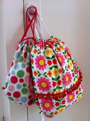 Children's Learn to Sew - Drawstring Rucksack Bag - 1:30 to 4:30pm Wednesda