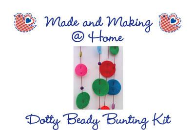 Dotty Beady Bunting - Makes 3m