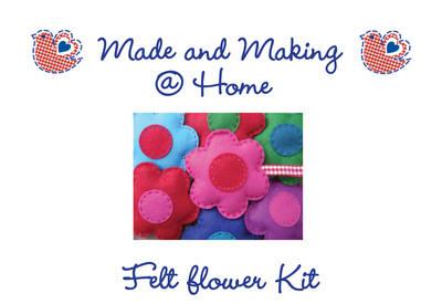 Felt Flower Kit - Makes 1