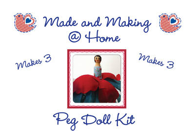 Peg Doll Kit - Makes 3