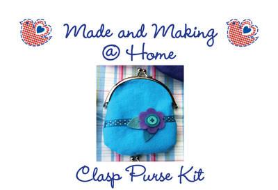 Clasp Purse Kit - Makes 1