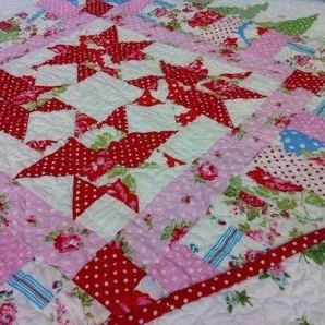 A beginners course in patchwork and quilting