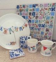 China - Plates, tiles, mugs and more
