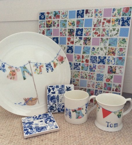 China - Plates, tiles and mugs - Various Dates and Times
