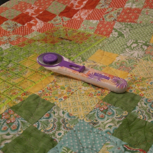 Patchwork & Quilting -Finishing off
