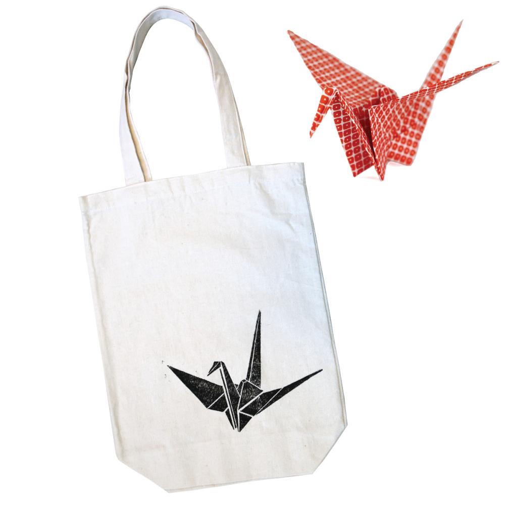 Origami Crane Tote