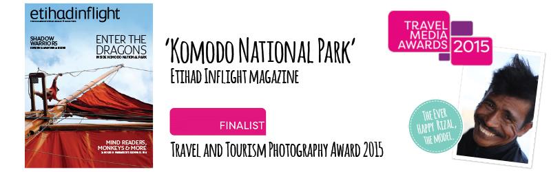 Travel Media Awards Finalist