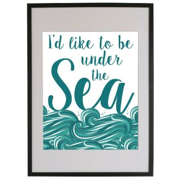 I'D LIKE TO BE UNDER THE SEA - SONG LYRICS