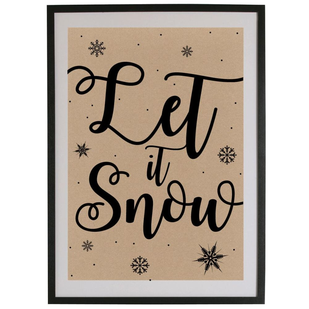 Let it Snow - Natural