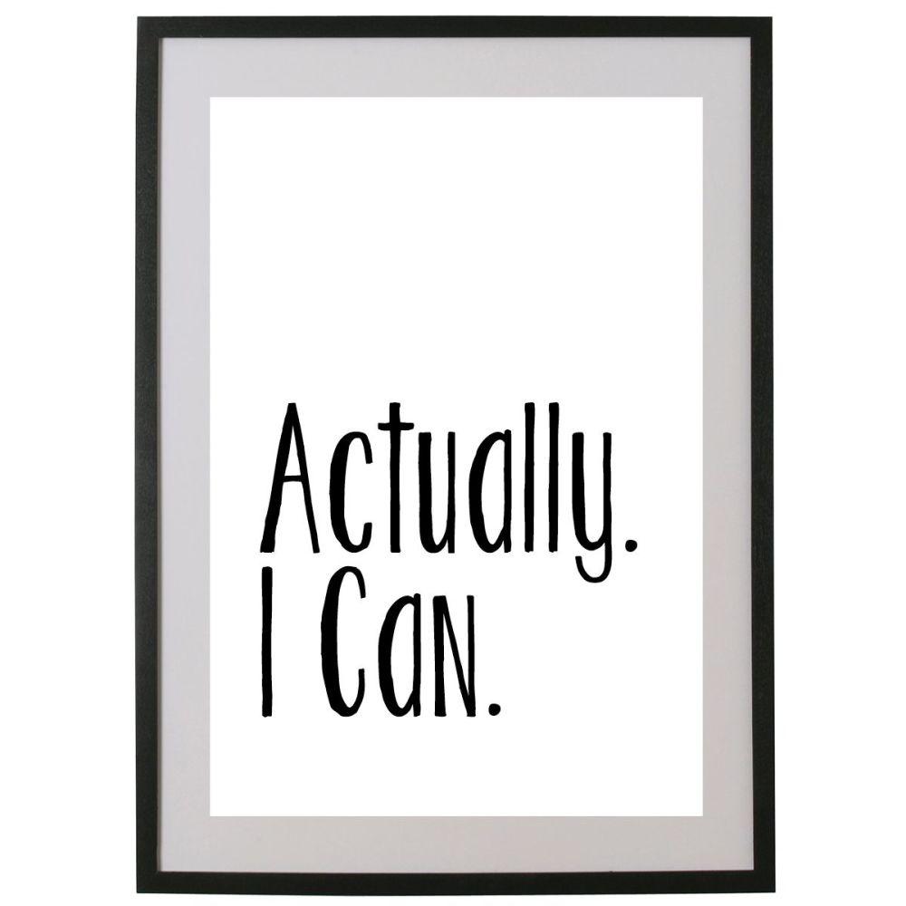 Actually. I Can.