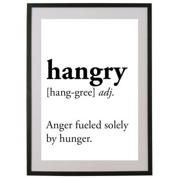 Hangry. Defined.