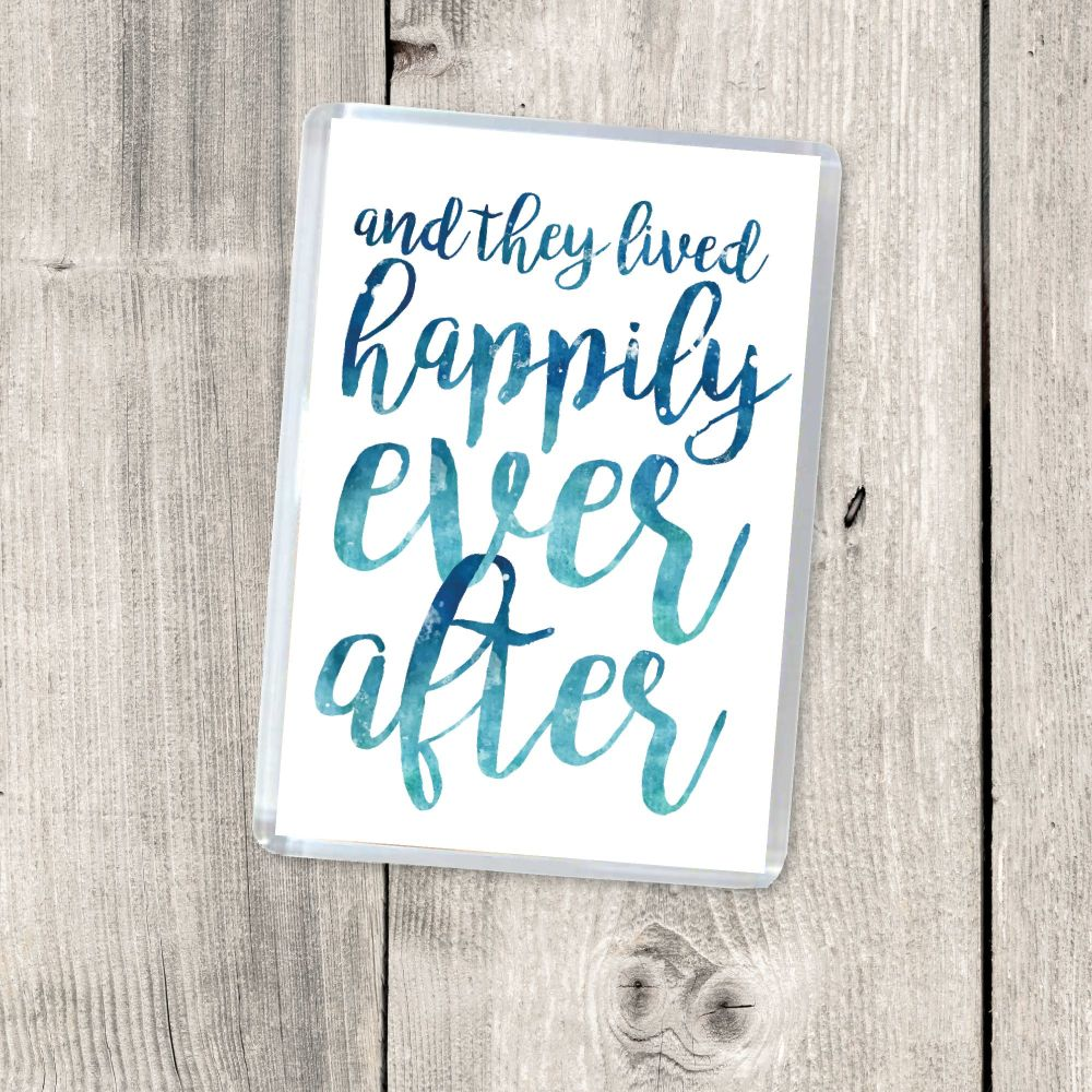 AND THEY LIVED HAPPILY EVER AFTER MAGNET