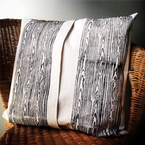 wood grain cushion