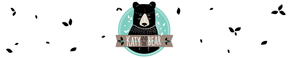 Katy and the Bear, site logo.