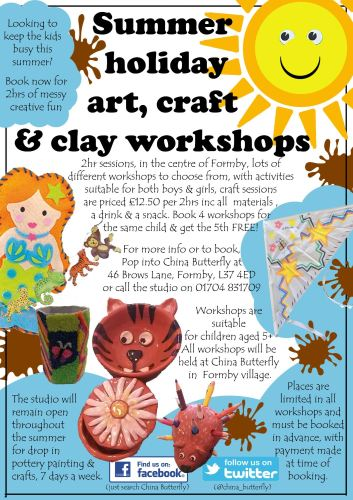 summer holiday workshops poster 2016 copy