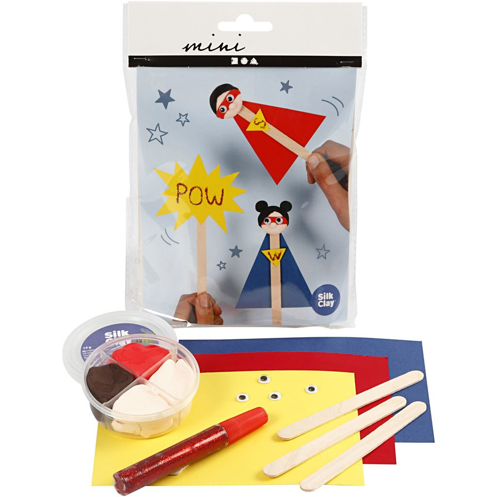 Superhero craft kit
