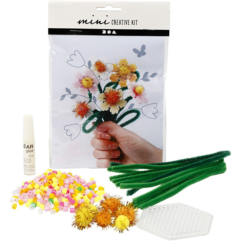 Make your own flowers craft kit