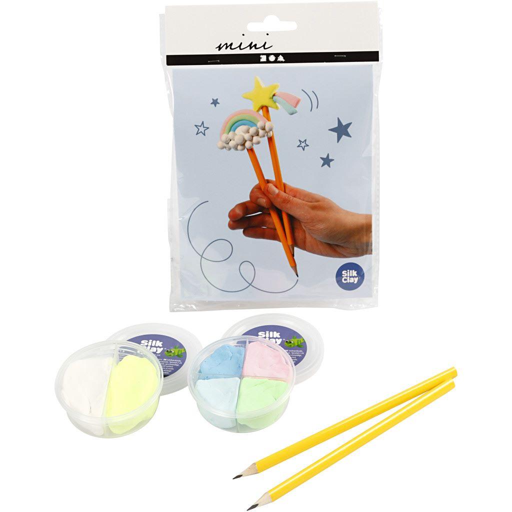 Silk clay pencil topper kit