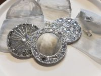 Silver pocket mirror